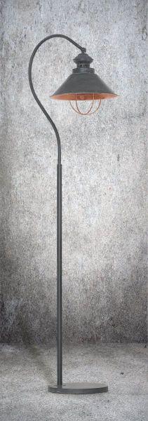 Lampy oświetlenie Nowodvorski - LOFT taupe podłogowa 5056